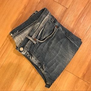 7for all Mankind•Flynn•bootcut•34•EUC•distressed